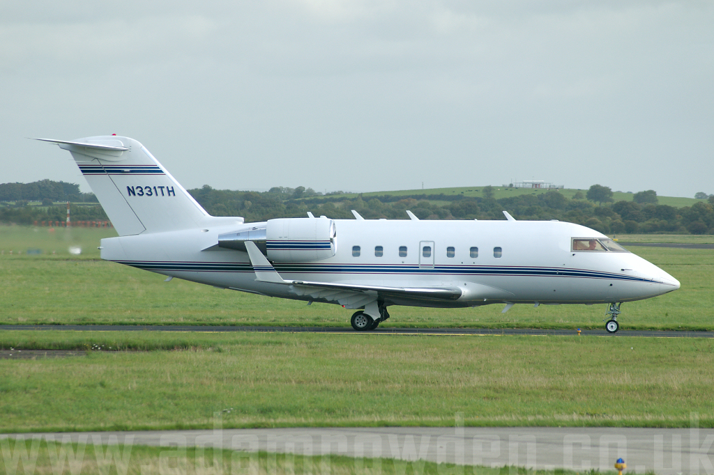Photo of Untitled Canadair CL-600 Challenger 604 N331TH (cn 5325) at Shannon Limerick Airport (SNN) on 19th September 2006
