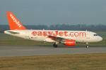 Photo of easyJet Airbus A319-111 G-EZEO (cn 2249) at London Stansted Airport (STN) on 28th December 2006