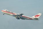 Photo of Martinair Holland Boeing 747-21AC PH-MCE (cn 23652/669) at London Stansted Airport (STN) on 28th December 2006