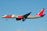 Photo of Jet2 Boeing 757-27B G-LSAB (cn 24136/169) at Newcastle Woolsington Airport (NCL) on 20th January 2007
