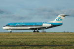 Photo of KLM Cityhopper Fokker 70 PH-KZA (cn 11567) at Newcastle Woolsington Airport (NCL) on 27th January 2007