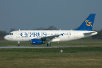 Photo of Cyprus Airways Airbus A319-132 5B-DBO (cn 1729) at London Stansted Airport (STN) on 26th March 2007