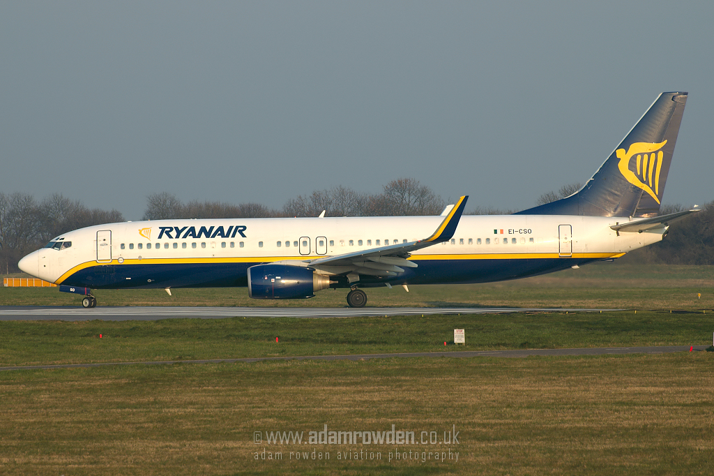 Photo of Ryanair Boeing 737-8AS(W) EI-CSO (cn 29928/735) at London Stansted Airport (STN) on 26th March 2007