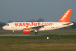 Photo of easyJet Airbus A319-111 G-EZEZ (cn 2360) at London Stansted Airport (STN) on 26th March 2007