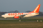 Photo of easyJet Boeing 737-73V G-EZJO (cn 30244/1148) at London Stansted Airport (STN) on 26th March 2007