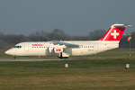 Photo of SWISS International Air Lines British Aerospace Avro RJ100 HB-IYZ (cn E3338) at London Stansted Airport (STN) on 26th March 2007