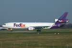 Photo of FedEx Express McDonnell Douglas MD-11F N612FE (cn 48605/555) at London Stansted Airport (STN) on 26th March 2007