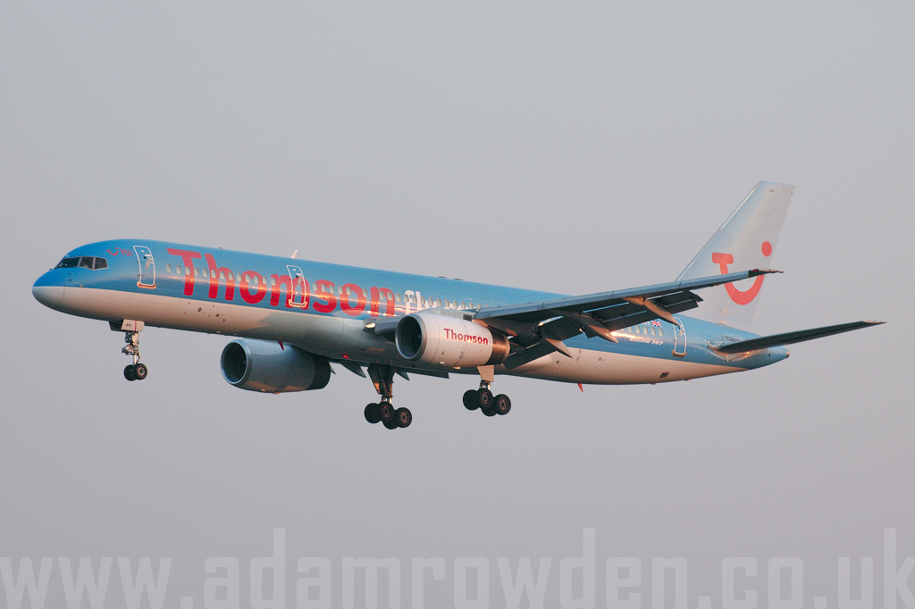 Photo of Thomsonfly Boeing 757-204 G-BYAH (cn 26966/520) at London Stansted Airport (STN) on 31st March 2007