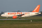 Photo of easyJet Airbus A319-111 G-EZNM (cn 2402) at London Stansted Airport (STN) on 31st March 2007