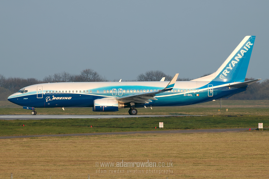 Photo of Ryanair Boeing 737-8AS(W) EI-DCL (cn 33806/1576) at London Stansted Airport (STN) on 2nd April 2007