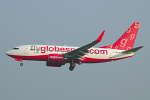Photo of Flyglobespan Boeing 737-7Q8(W) G-MSJF (cn 30710/2188) at London Stansted Airport (STN) on 2nd April 2007