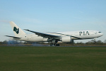 Photo of Pakistan International Airways Boeing 777-240LR AP-BGY (cn 33781/504) at Manchester Ringway Airport (MAN) on 4th April 2007