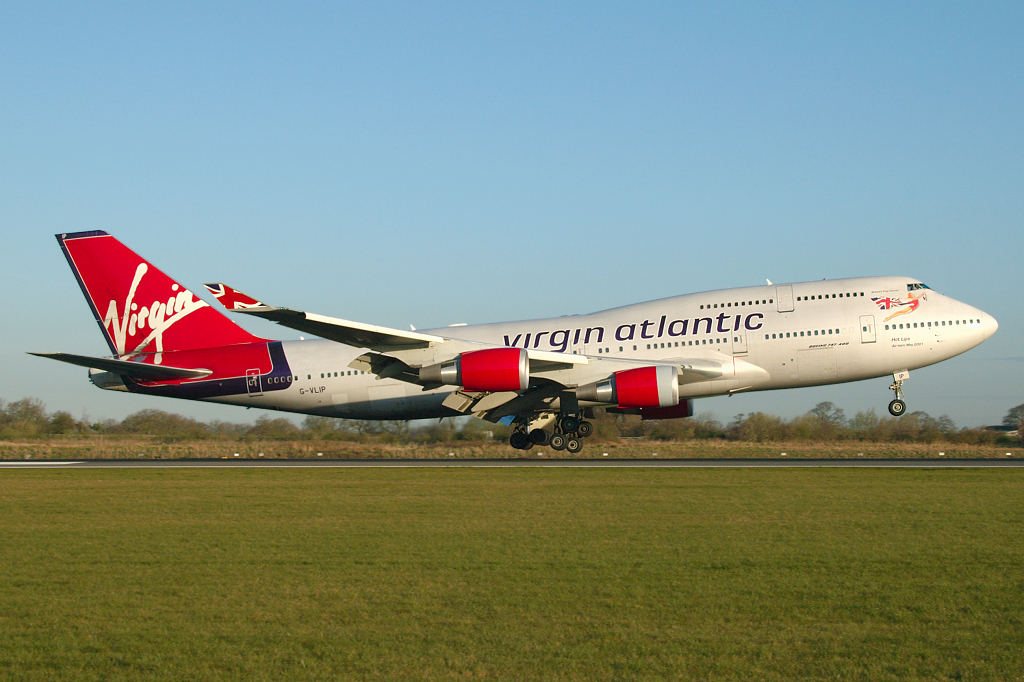 Photo of Virgin Atlantic Airways Boeing 747-443 G-VLIP (cn 32338/1274) at Manchester Ringway Airport (MAN) on 4th April 2007