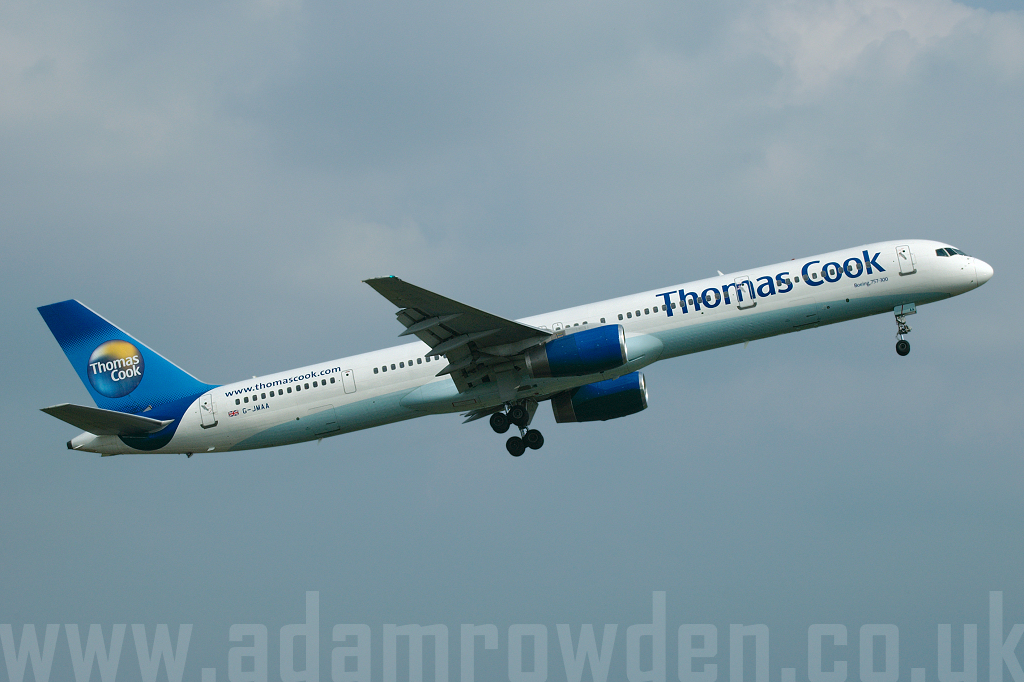 Photo of Thomas Cook Airlines Boeing 757-3CQ G-JMAA (cn 32241/960) at Manchester Ringway Airport (MAN) on 9th June 2007