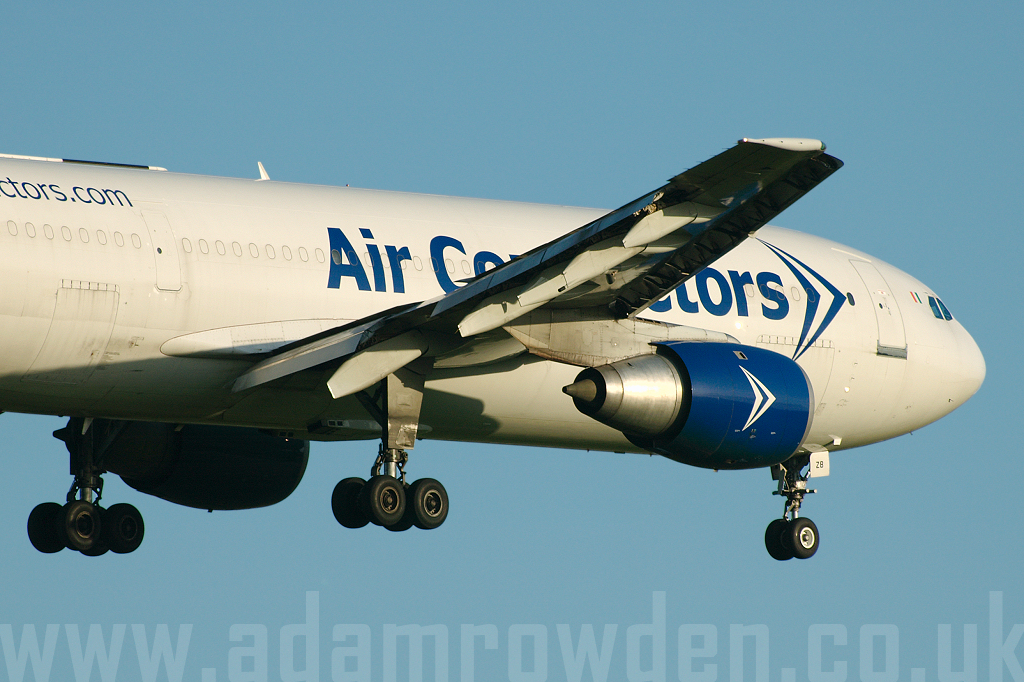 Photo of Air Contractors Airbus A300B4-103F EI-OZB (cn 184) at London Stansted Airport (STN) on 20th June 2007