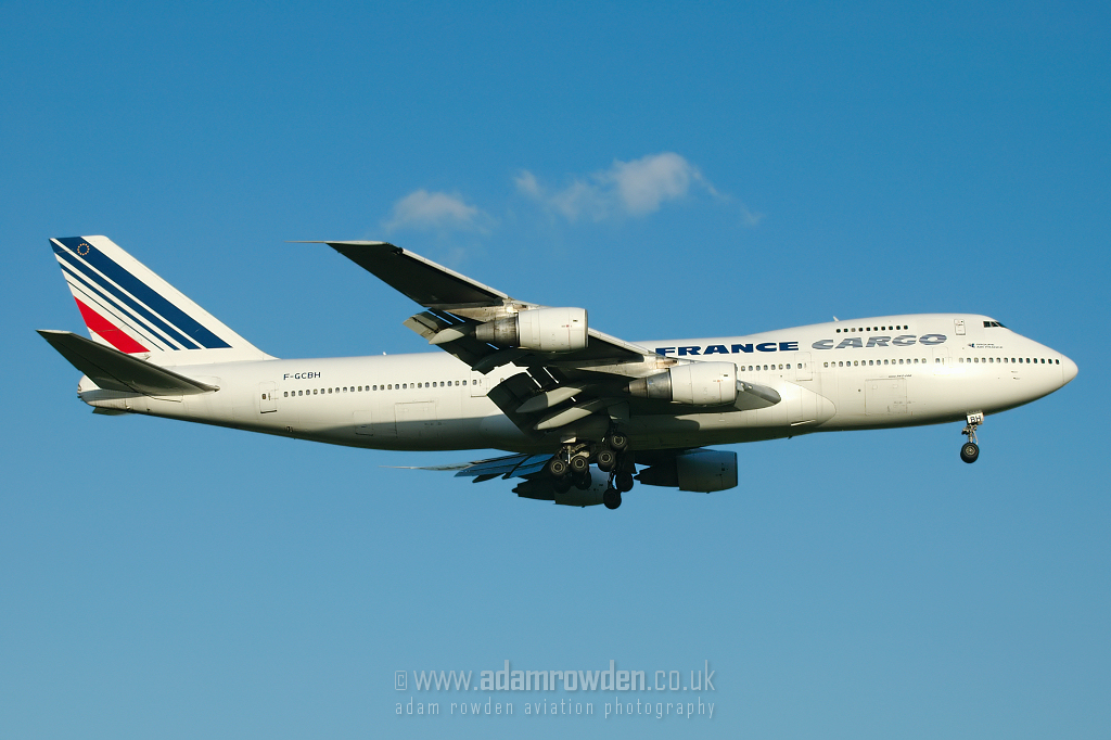 Photo of Air France Cargo Boeing 747-228B(SF) F-GCBH (cn 23611/656) at London Stansted Airport (STN) on 20th June 2007