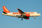 Photo of easyJet Airbus A319-111 G-EZBG (cn 2946) at London Stansted Airport (STN) on 20th June 2007