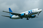 Photo of XL Airways Boeing 737-8Q8 G-XLAA (cn 28226/077) at London Stansted Airport (STN) on 20th June 2007
