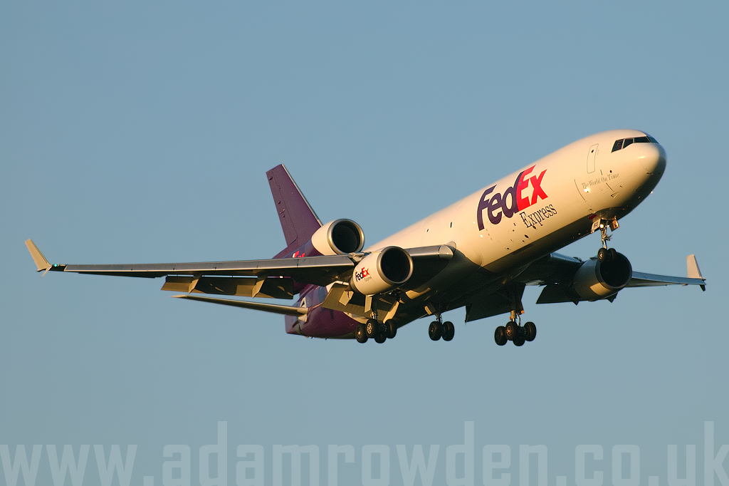 Photo of FedEx Express McDonnell Douglas MD-11F N613FE (cn 48749/598) at London Stansted Airport (STN) on 20th June 2007