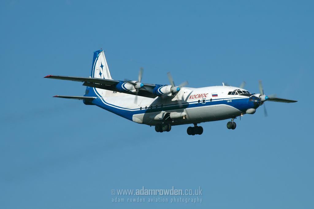 Photo of Kosmos Aviation Company Antonov An-12BK RA-13392 (cn 00347210) at London Stansted Airport (STN) on 20th June 2007
