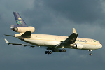 Photo of Saudi Arabian Airlines Cargo McDonnell Douglas MD-11F HZ-ANC (cn 48776/617) at London Stansted Airport (STN) on 28th June 2007