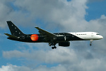 Photo of Titan Airways Boeing 757-256 G-ZAPX (cn 29309/936) at London Stansted Airport (STN) on 17th July 2007