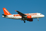 Photo of easyJet Airbus A319-111 G-EZBV (cn 3122) at London Stansted Airport (STN) on 18th July 2007