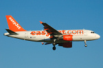 Photo of easyJet Airbus A319-111 G-EZIX (cn 2605) at London Stansted Airport (STN) on 18th July 2007