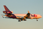 Photo of FedEx Express McDonnell Douglas MD-11F N575FE (cn 48500/493) at London Stansted Airport (STN) on 18th July 2007