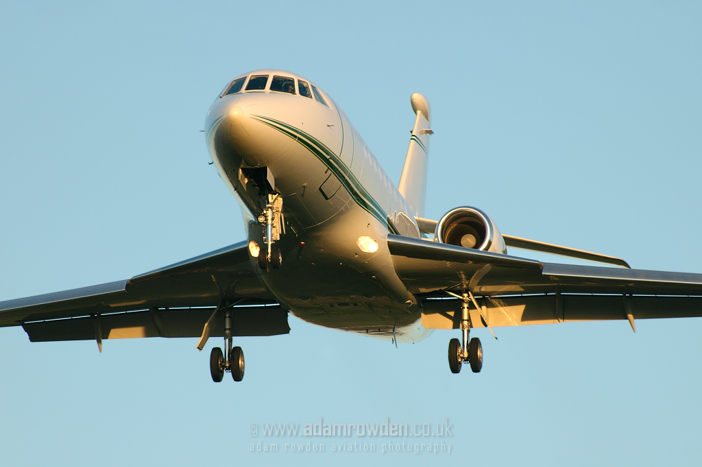 Photo of Untitled Dassault Falcon 2000EX N377GM (cn 032) at Newcastle Woolsington Airport (NCL) on 5th November 2007