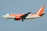Photo of easyJet Boeing 737-73V G-EZJA (cn 30235/672) at Newcastle Woolsington Airport (NCL) on 12th November 2007