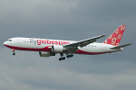 Photo of Flyglobespan (opf Air India) Boeing 767-319ER G-CEOD (cn 30586/808) at London Heathrow Airport (LHR) on 18th March 2008