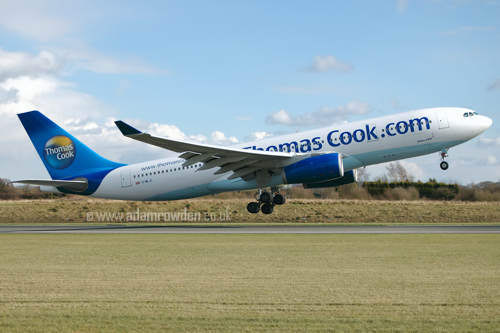 Photo of Thomas Cook Airlines Airbus A330-243 G-MLJL (cn 254) at Manchester Ringway Airport (MAN) on 24th March 2008