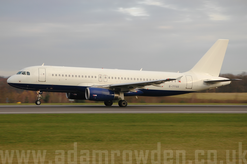 Photo of GB Airways (opf British Airways) Airbus A320-232 G-TTOD (cn 1723) at Manchester Ringway Airport (MAN) on 24th March 2008