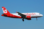 Photo of Air Berlin Airbus A319-111 D-ABGK (cn 3447) at Manchester Ringway Airport (MAN) on 14th May 2008