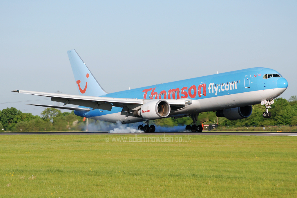 Photo of Thomsonfly Boeing 767-304ER G-OBYI (cn 29138/783) at Manchester Ringway Airport (MAN) on 14th May 2008