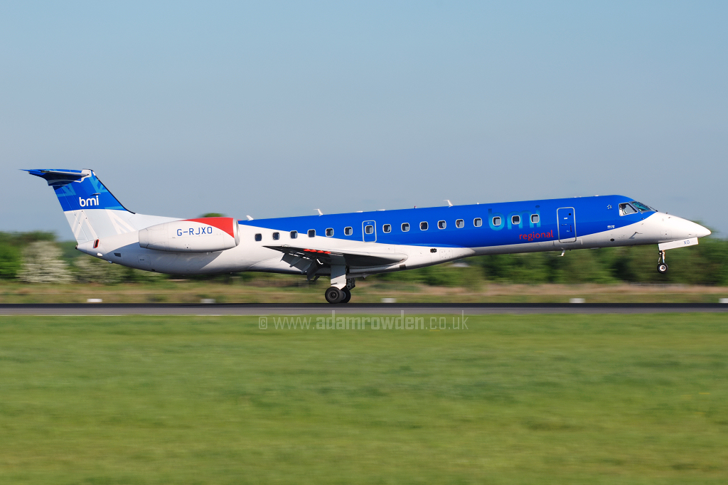 Photo of bmi regional Embraer ERJ-145MP G-RJXO (cn 14500339) at Manchester Ringway Airport (MAN) on 14th May 2008