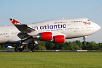 Photo of Virgin Atlantic Airways Boeing 747-41R G-VXLG (cn 29406/1177) at Manchester Ringway Airport (MAN) on 14th May 2008