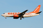 Photo of easyJet Boeing 737-73V G-EZJR (cn 32413/1202) at Newcastle Woolsington Airport (NCL) on 19th May 2008