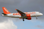 Photo of easyJet Airbus A319-111 G-EZAE (cn 2709) at London Stansted Airport (STN) on 12th August 2008