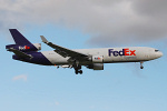 Photo of FedEx Express McDonnell Douglas MD-11F N574FE (cn 48499/486) at London Stansted Airport (STN) on 12th August 2008