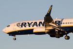 Photo of Ryanair Boeing 737-8AS(W) EI-DWV (cn 33627/2492) at Newcastle Woolsington Airport (NCL) on 3rd December 2008