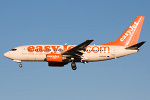 Photo of easyJet Boeing 737-73V G-EZJP (cn 32412/1151) at Newcastle Woolsington Airport (NCL) on 3rd December 2008