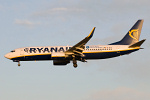 Photo of Ryanair Boeing 737-8AS(W) EI-DLX (cn 33600/2082) at Newcastle Woolsington Airport (NCL) on 17th December 2008