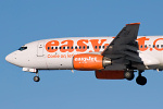 Photo of easyJet Boeing 737-73V G-EZJZ (cn 32421/1357) at Newcastle Woolsington Airport (NCL) on 6th February 2009
