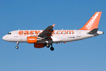 Photo of easyJet Airbus A319-111 G-EZPG (cn 2385) at Newcastle Woolsington Airport (NCL) on 6th February 2009