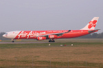 Photo of Air Asia X Airbus A340-313X 9M-XAB (cn 273) at London Stansted Airport (STN) on 21st March 2009