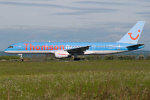 Photo of Thomson Airways Boeing 757-204 G-BYAW (cn 27234/663) at Newcastle Woolsington Airport (NCL) on 23rd May 2009