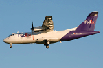 Photo of FedEx Feeder (opb Air Contractors) Aérospatiale ATR-42-320F EI-FXA (cn 282) at Newcastle Woolsington Airport (NCL) on 4th June 2009