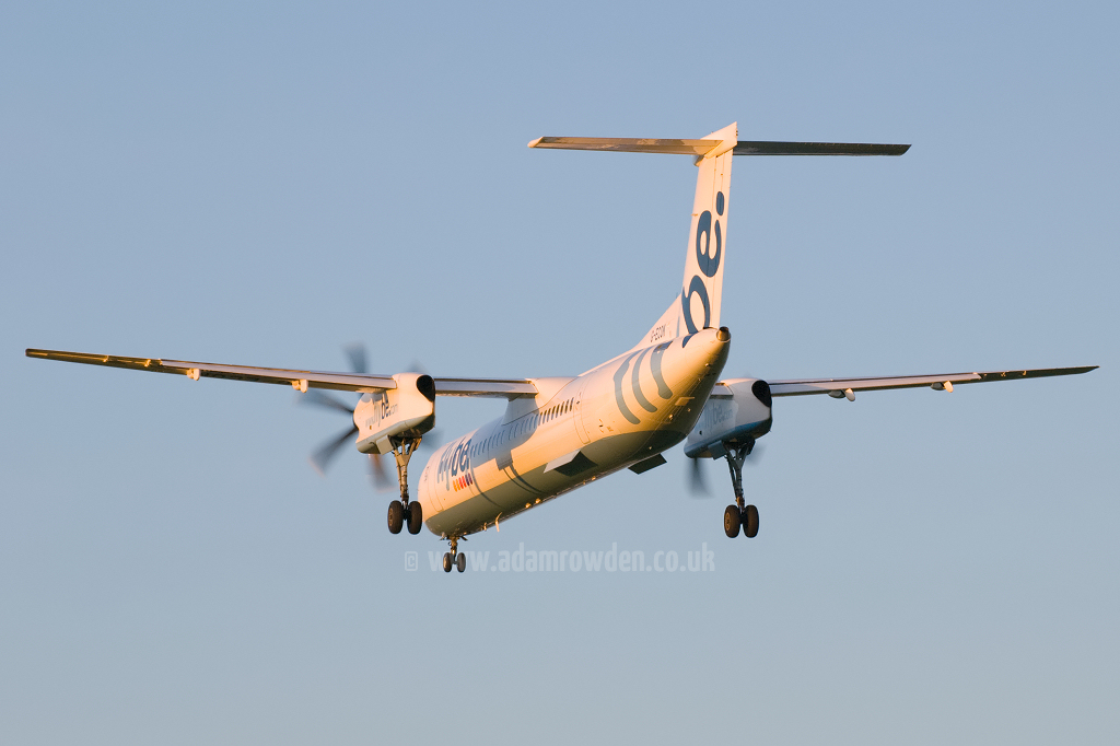 Photo of Flybe De Havilland Canada DHC-8-402Q Dash 8 G-ECOK (cn 4230) at Newcastle Woolsington Airport (NCL) on 4th June 2009